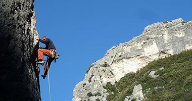 arrampicare in appennino