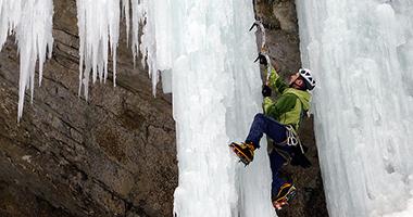 cascate di ghiaccio in appennino
